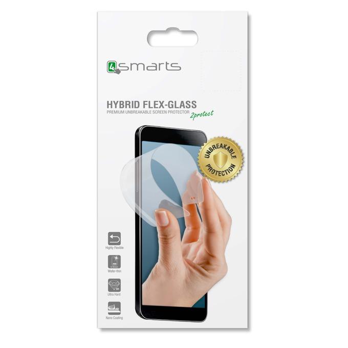 Протектор от закалено стъкло /Tempered Glass/ 4smarts Hybrid Flex-Glass за Huawei P9 Lite, прозрачен image