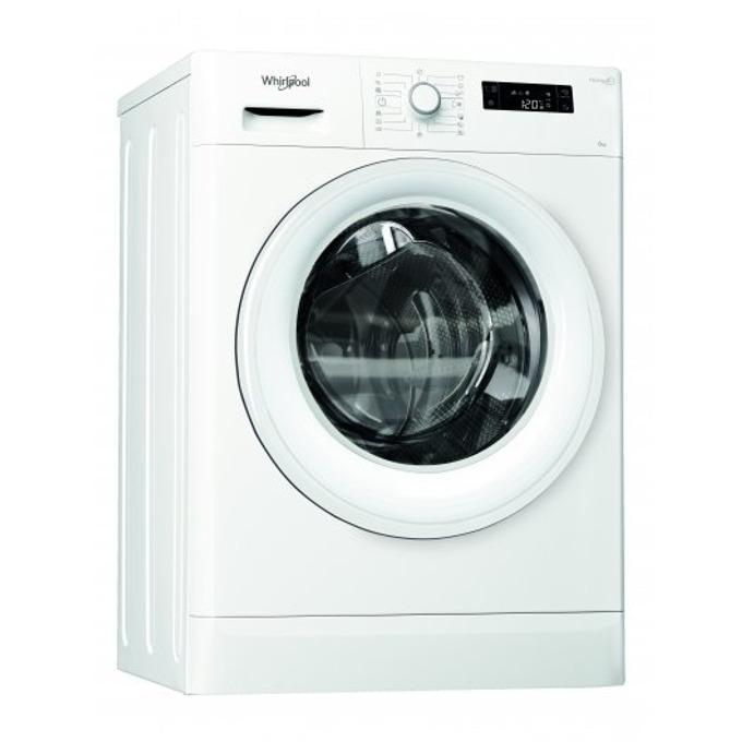 Перална машина Whirlpool FWSF 61253W, клас А+++, 6 кг. капацитет, 1200 оборота в минута, свободностояща, 60 cm. ширина, бяла image