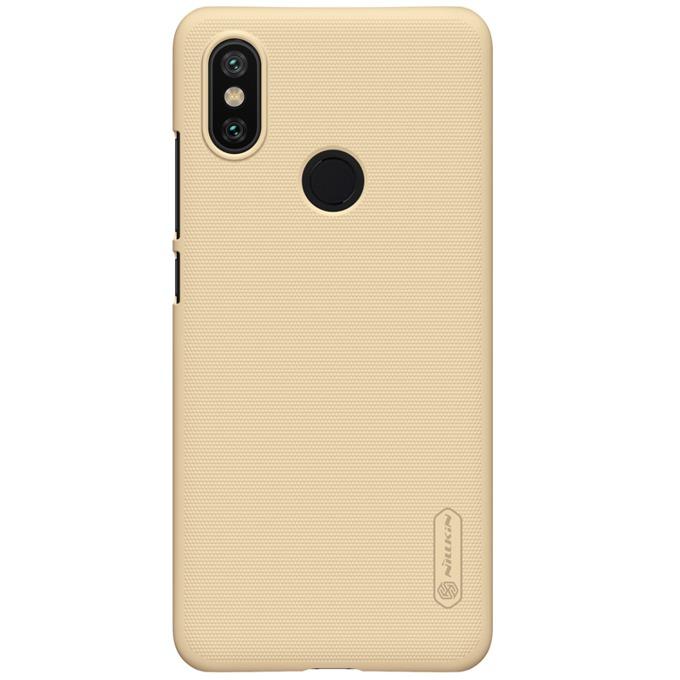 Oригинален калъф за Xiaomi Mi A2, пластмасов, Nillkin Super XI343-Zlaten, златист image