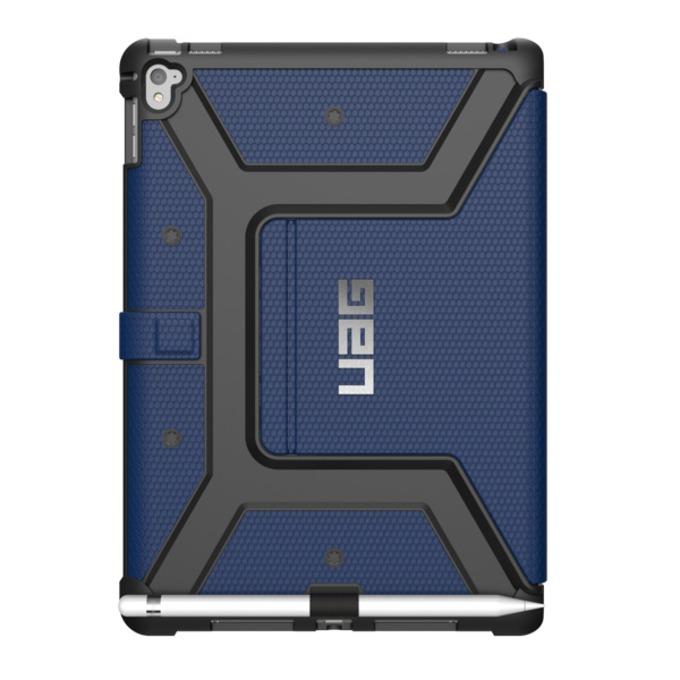 Поликарбонатов Протектор Urban Armor Gear Folio, удароустойчив, за iPad Pro 9.7, син image