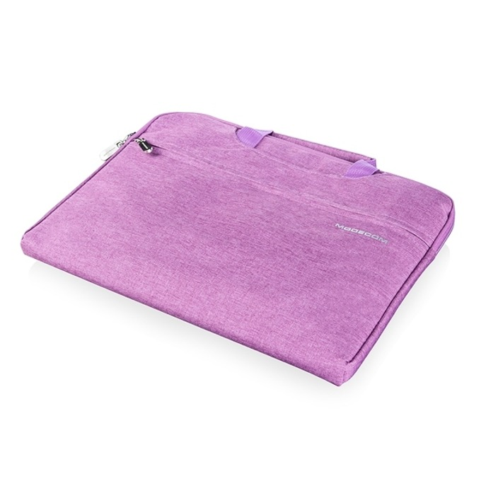 "Чанта за лаптоп Modecom Highfill до 11.3"" (28.70cm), водоустойчива, лилава image"