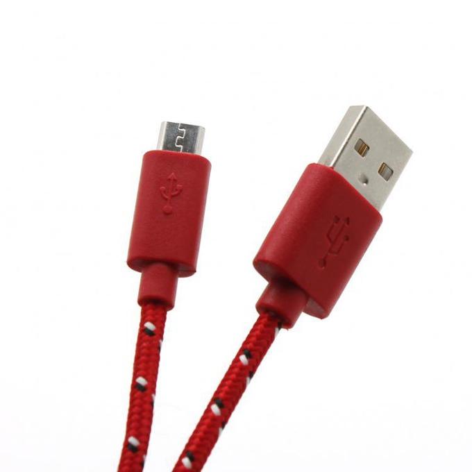 Кабел SBOX CP01-04-002P, USB A(м) към USB Micro B(м), 1m, червен image