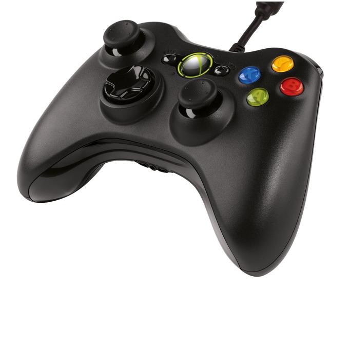Контролер Xbox 360, черен за PC, XBOX 360 image