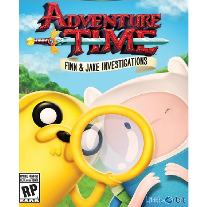 Adventure Time: Finn and Jake Investigations, за Xbox 360 image