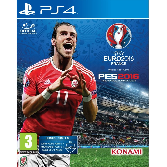 UEFA Euro 2016 Pro Evolution Soccer, за PS4 image