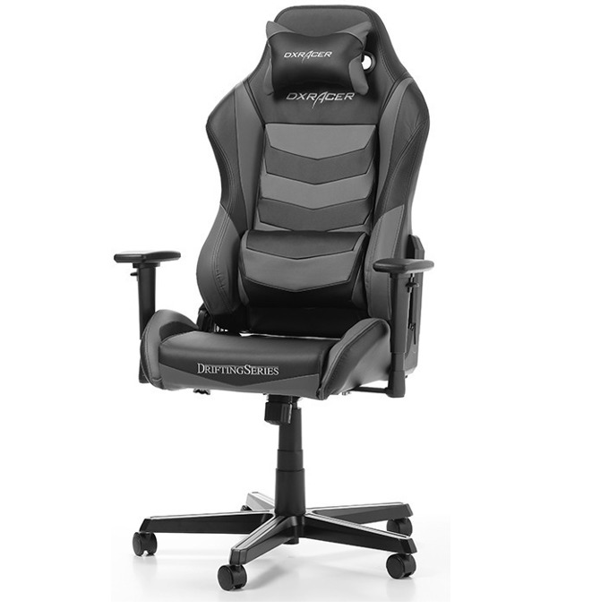 Геймърски стол DXRacer Drifting OH/DM166/NG, черен/сив image
