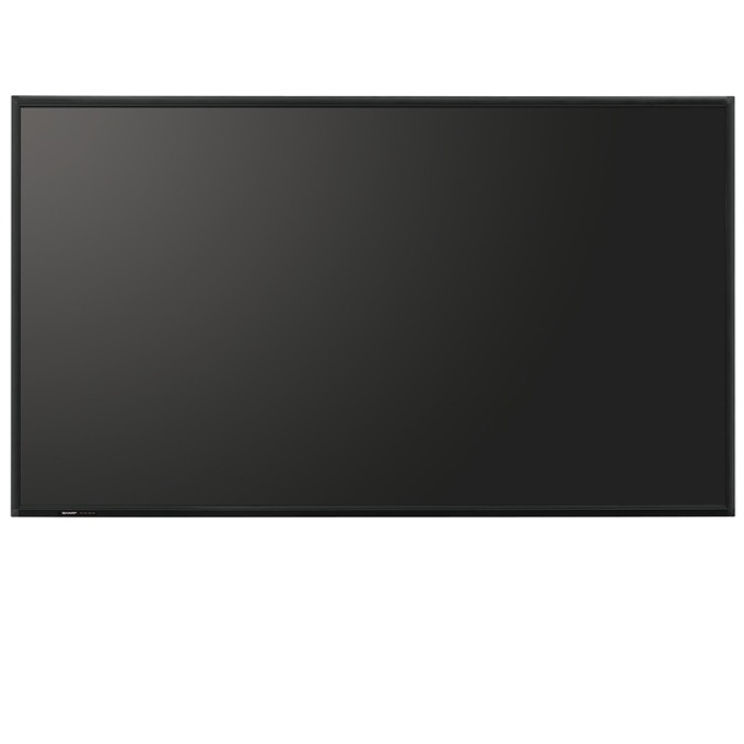 "Публичен дисплей SHARP PNR903, 90""(228.6 cm), Full HD, VGA, HDMI, DVI-D, DisplayPort, RS232, RCA, LAN, черен image"
