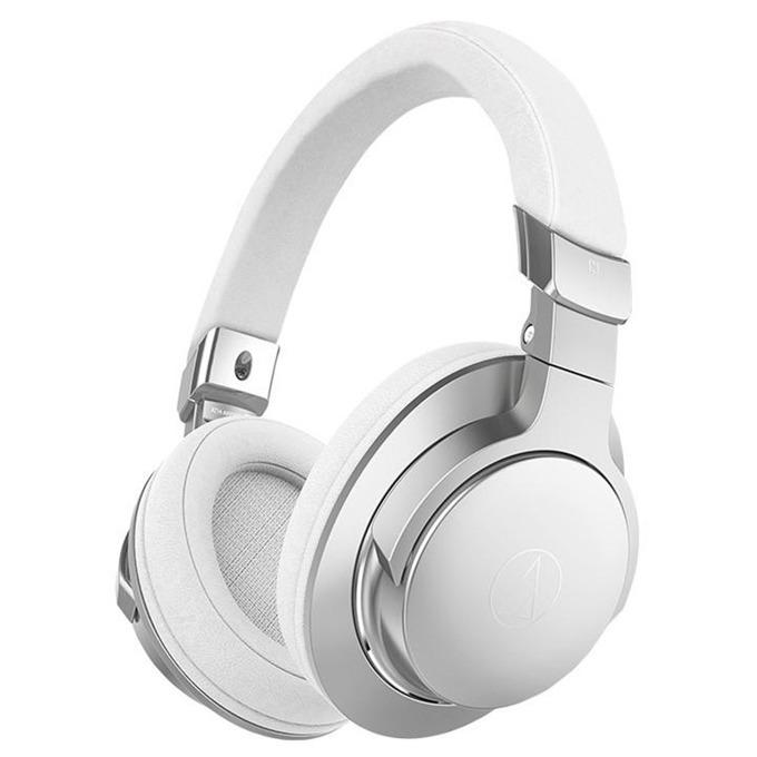 Слушалки Audio-Technica ATH-AR5BTSV, безжични, сгъваеми, микрофон, сребристи image