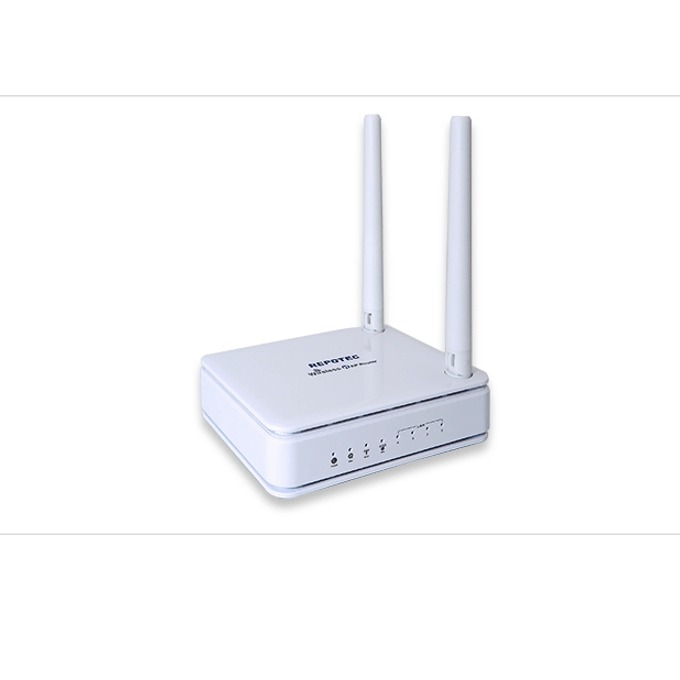 Рутер Repotec RP-WR5444, 300Mbps, 2.4GHz (300Mbps), Wireless N, 4x LAN:10/100 Mbps, 2 x Fixed 3dBi Antenna image
