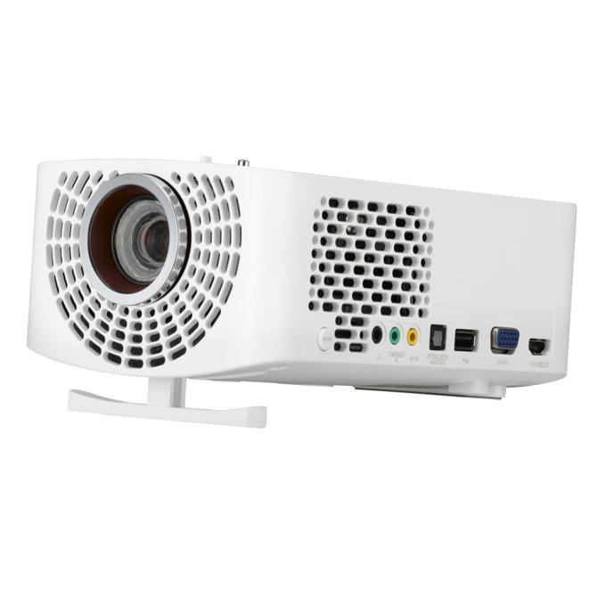 Проектор LG PF1500G, DLP, 3D Ready, Full HD, 150,000:1, 1400lm, WiDi, 2x HDMI, USB image
