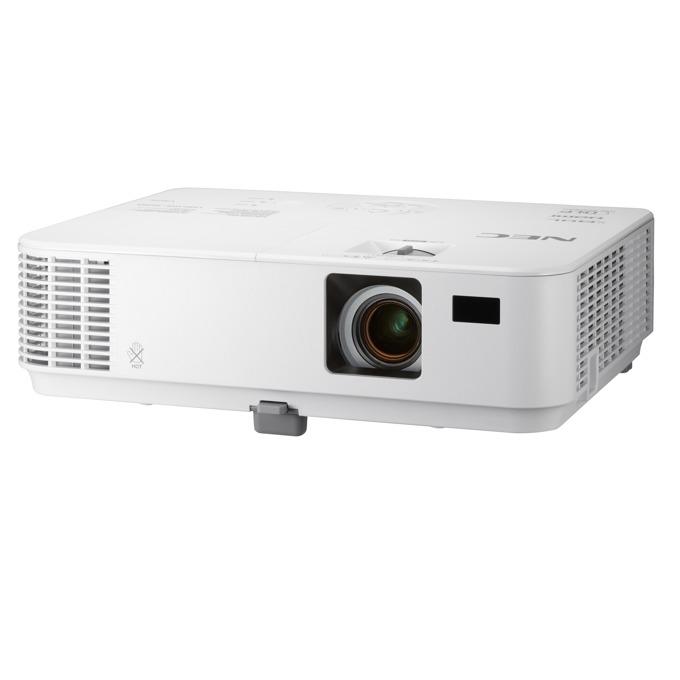 Проектор NEC V332X, DLP, XGA (1024x768), 10000:1, 3300 lm, VGA, HDMI, RS232, RCA, LAN image