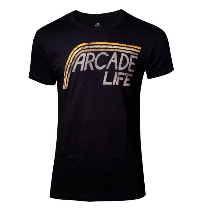 Тениска Bioworld Atari - Arcade Life, размер M, черна image