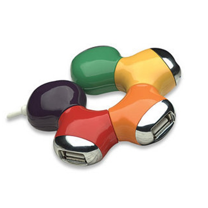 USB Hub Manhattan 161053, 4 port, USB 2.0 image