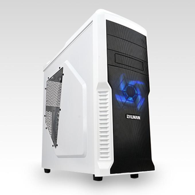 mATX/ATX, Zalman Z3 Plus, бяла, без захранване image