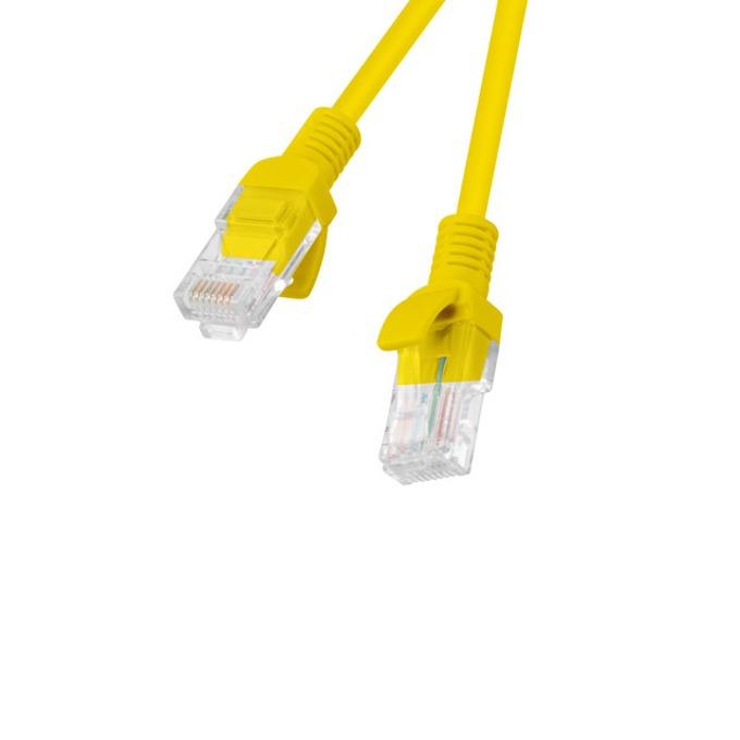 Пач кабел Lanberg , UTP, Cat5e, 2m, жълт image