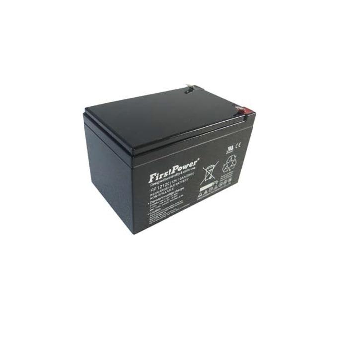 Акумулаторна батерия First Power FP12120T2, 12V, 12 Ah, GEL image