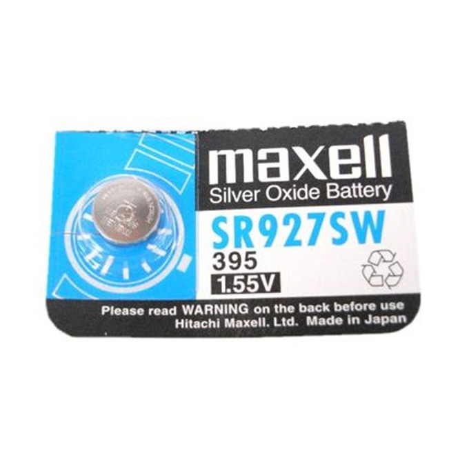 Батерия сребърна Maxell SR, SR927SW, 1.55V, 1 бр. image
