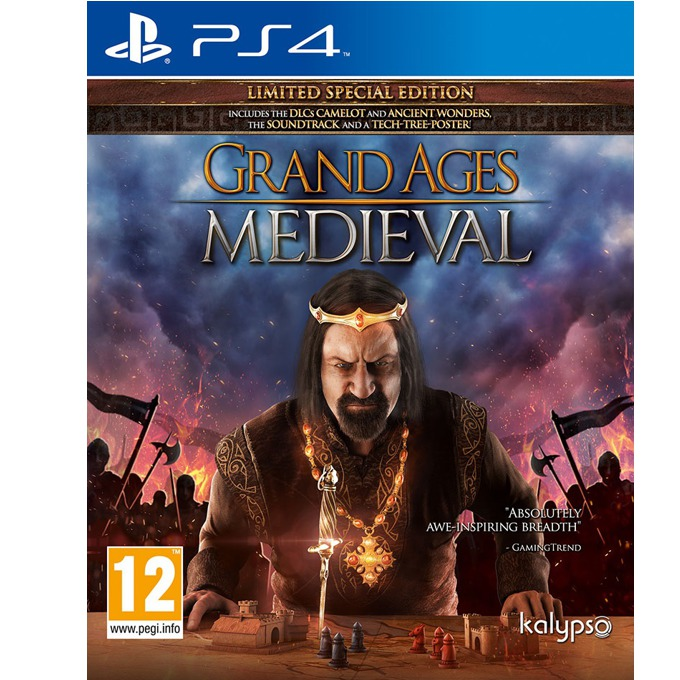 Игра за конзола Grand Ages: Medieval Limited Special Edition, за PS4 image