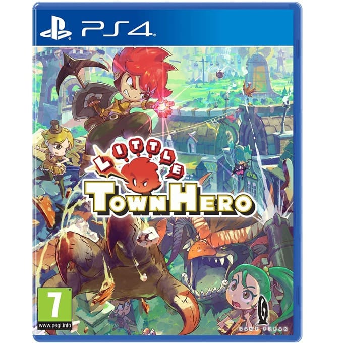 Little Town Hero - Big Idea Edition PS4 product