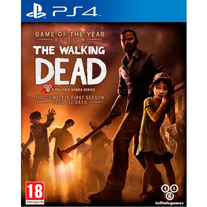 Игра за конзола The Walking Dead - Game of the Year Edition, за PS4 image