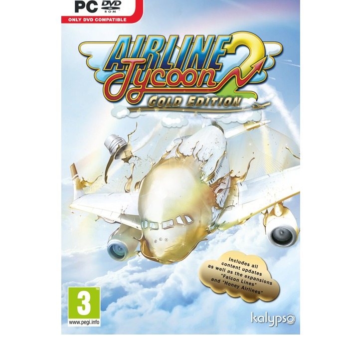 Airline Tycoon 2 Gold Edition, DLC : Honey Airlines, и Falcon Lines, за PC image