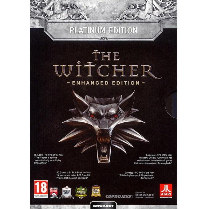 The Witcher: Enhanced Edition - Platinum Edition, за PC image