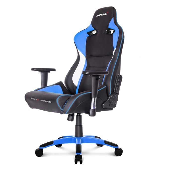 Геймърски стол AKRACING ProX, изкуствена кожа, специални пплатове, син image