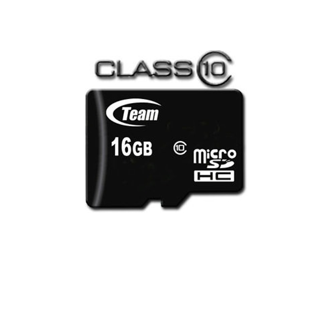 Карта памет 16GB microSDHC, TeamGroup, +SD адаптер, Class10 image