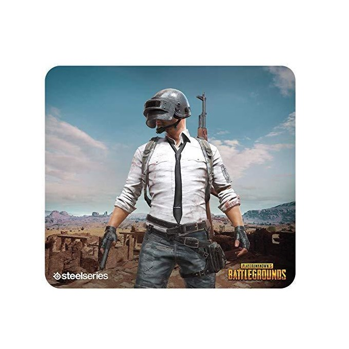 Подложка за мишка Steel Series QcK+ PUBG Miramar Edition, гейминг, 450 x 400 x 4mm image