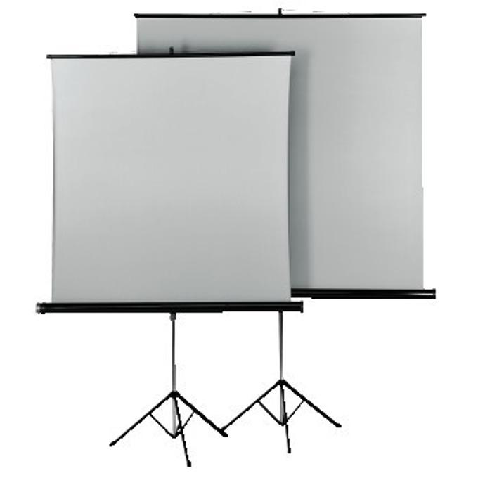 Екран на стойка 125x125 cm,