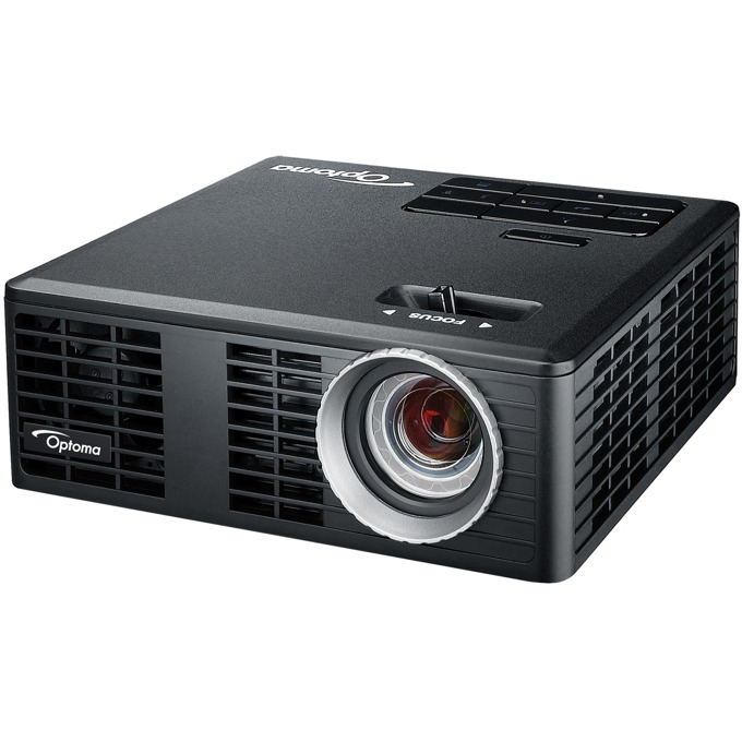 Проектор Optoma ML750e LED DLP, ANSI Lumens 700, 15,000:1, WXGA 1280 x 800, HDMI, Out 3.5mm, USB-A, преносим image