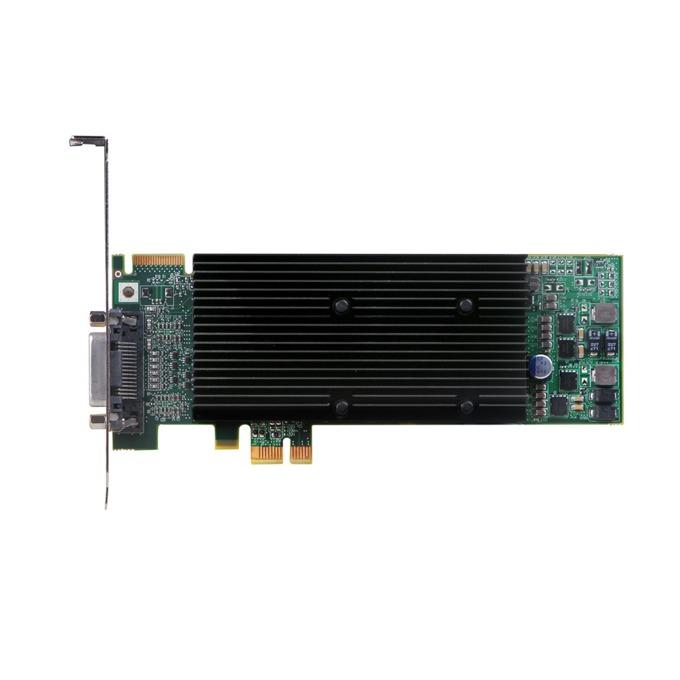 Видео карта Matrox M9120 Plus LP, 512M, PCI-E, DDR2, 2xDVI SL, Analog image