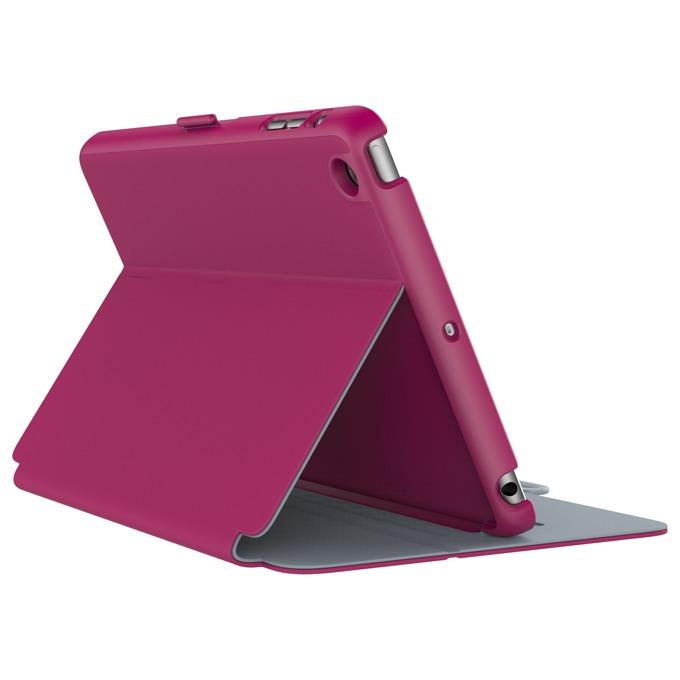 "Калъф тип ""бележник"" Speck StyleFolio за iPad Mini 4, цикламен image"