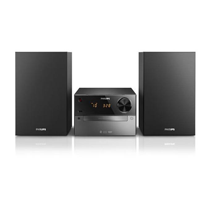 Мини аудио система Philips BTM2310, CD, CD-R/RW, MP3-CD, USB flash drive, 15W image