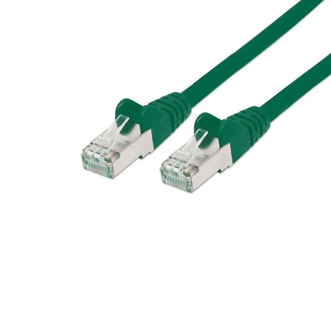 Пач кабел Intellinet, SFTP, Cat.6А, 2m, зелен image