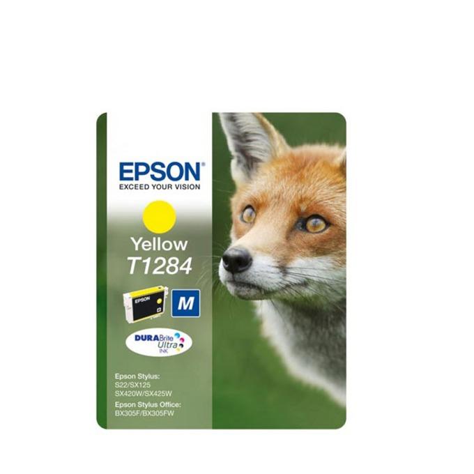 ГЛАВА ЗА EPSON STYLUS S22/SX125/420W/425W/BX305F - Yellow - P№ C13T12844010 - заб.: 3.5ml. image