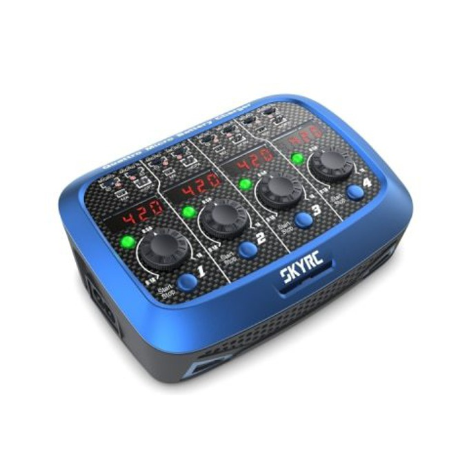 Зарядно усторйство SKYRC Quatro Micro за LiPo батерии image