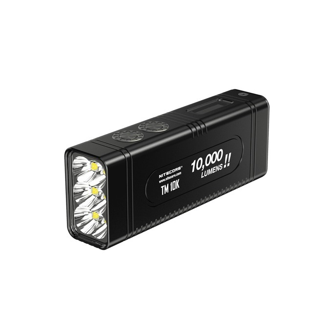 Фенер Nitecore TM10K, 1x Li-ion батерия, 10000 lumens, за открито, черен image