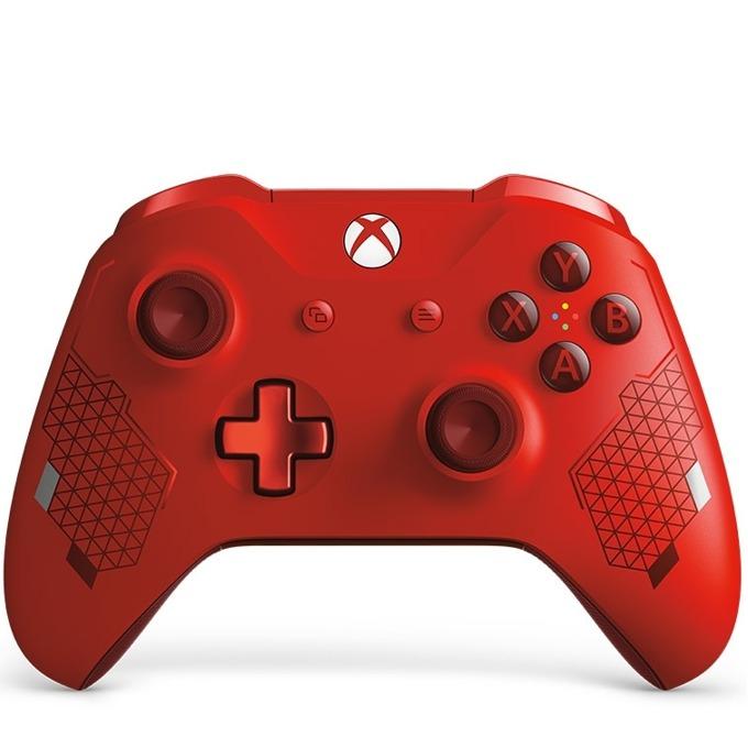 Геймпад Microsoft Xbox One - Sport Red Special Edition, безжичен, за Xbox One, червен image
