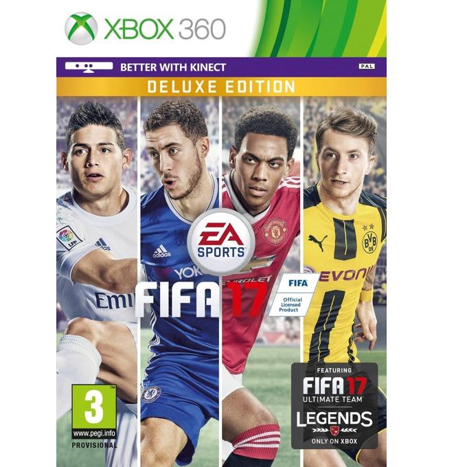 Игра за конзола FIFA 17 Deluxe Edition, за Xbox 360 image