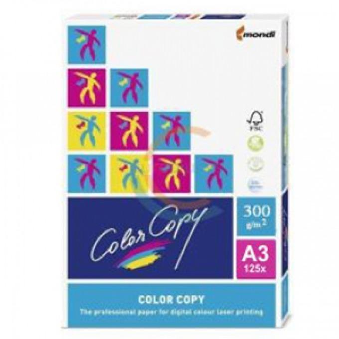 Картон Mondi Color Copy, А3, 300g/m2, 125л., бял image