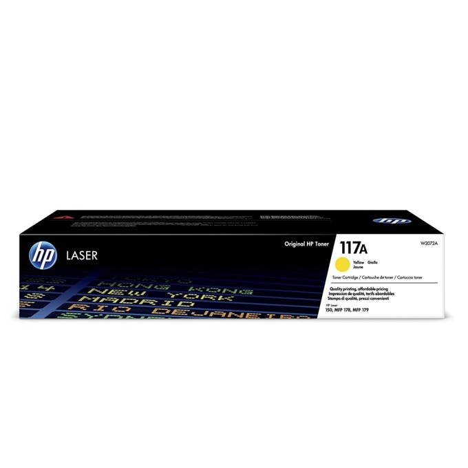 HP 117A Yellow W2072A product
