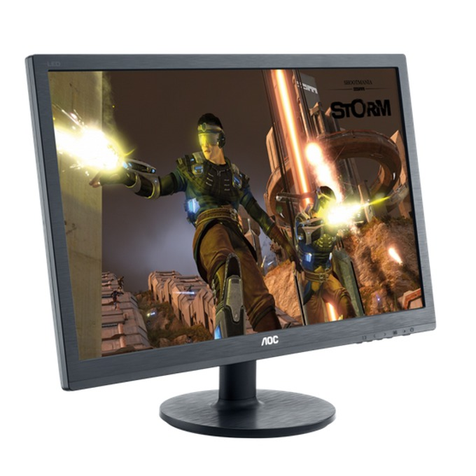 "Монитор AOC G2460FQ, 24"" (60.96 cm), TN панел, 1ms, Full HD, 1000:1, 350cd/m2, DVI, DisplayPort, HDMI image"