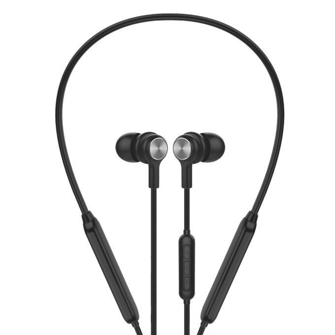 Слушалки Microlab Bolt 200, безжични, микрофон, до 8 часа работа, Bluetooth, черни image