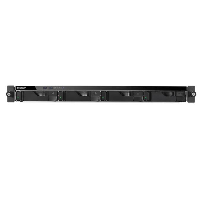 "Мрежови диск (NAS) Asustor AS6204RD, четириядрен Intel Celeron 1.6GHz/2.24GHz, без твърд диск (4x SATA3 6Gb/s; 3.5""/2.5"" HDD/SSD), 4GB DDR3L, 4x Lan1000, HDMI, 4x USB 3.0 image"
