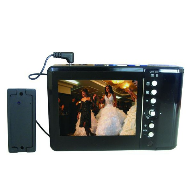 "DVR Privileg SPD-200 камера, 3.5""(8.89 cm) LCD дисплей, MJPEG4 компресия, 20GB HDD, SD слот image"