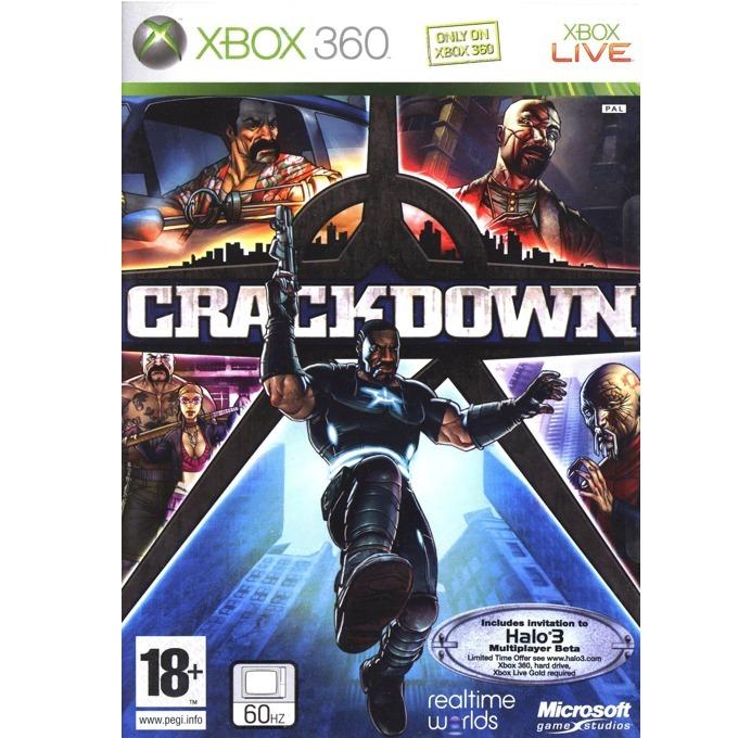 Игра за конзола Crackdown, за X-BOX image