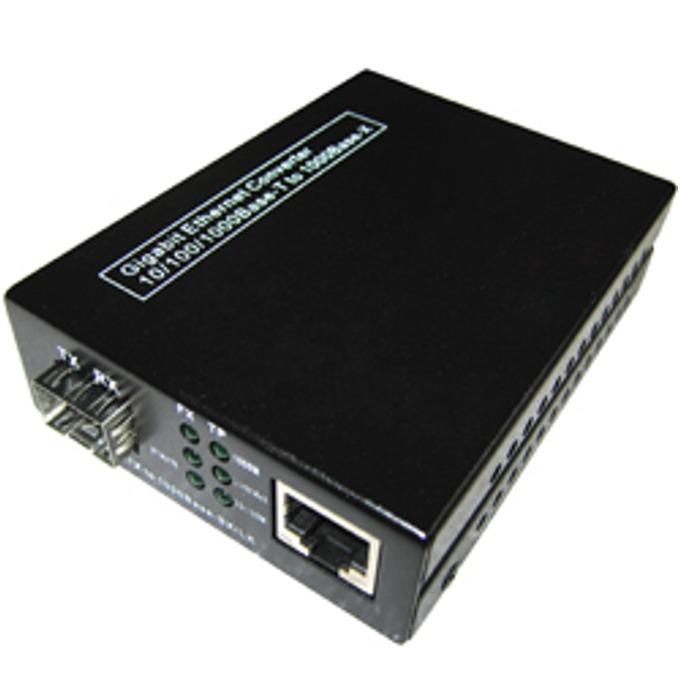 Медиа конвертор GMC-SFP, от 10/100/1000Base-T към 1.25G SFP  image