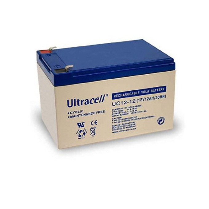 Акумулаторна батерия Ultracell 12-12, 12V, 12Ah image