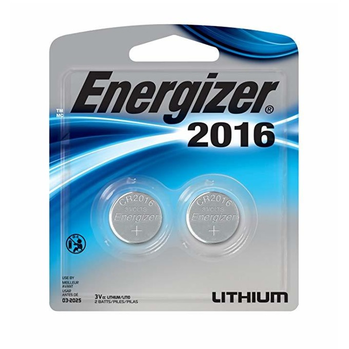 Батерии литиеви Energizer CR2016, 3V, 2бр. image